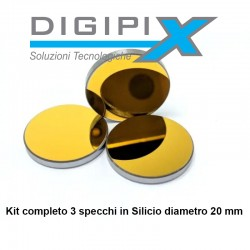 Kit specchi in Silicio 20 mm